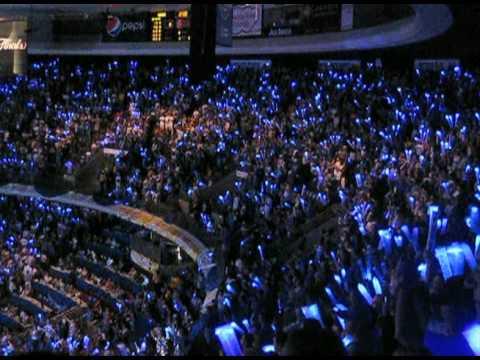 1st NBA Game VBlog1