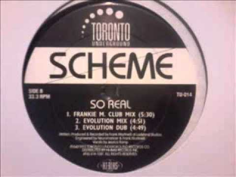 Scheme - So Real  (Evolution Mix)  1993