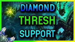 DIAMOND SUPPORT THRESH SEASON 8 - League of Legends