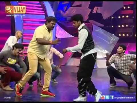 Jodi   ஜோடி   Fun Filled performance by Siddarth, Sandy, Robo Shankar
