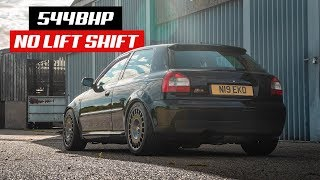THIS 544BHP AUDI S3 IS A *WILD ANIMAL*