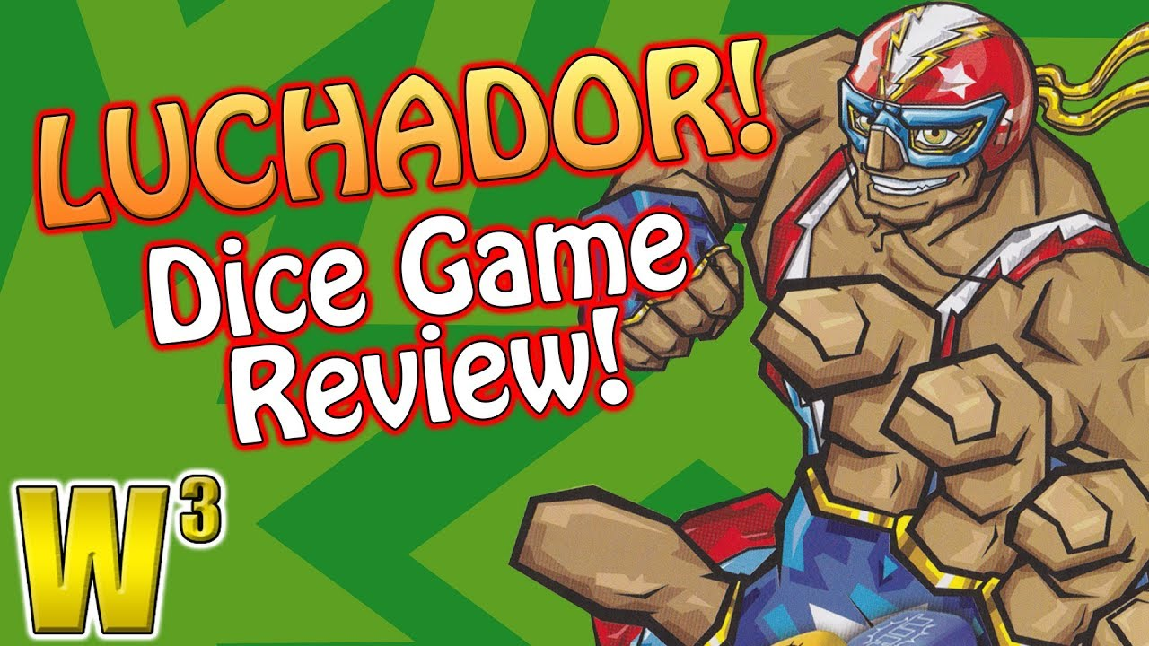Luchador! Mexican Wrestling Dice Game Review   Wrestling With Wregret