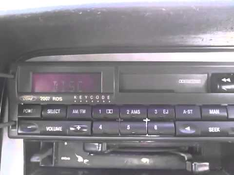 ford stereo test before removal 2007 radio cassette 2040. Black Bedroom Furniture Sets. Home Design Ideas