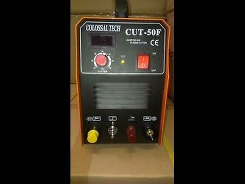 Colossal Tech Cut-50F Pilot Arc Plasma Cutter Review