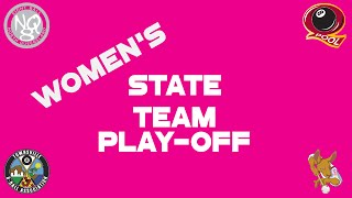 2016 Qld 8 Ball Womens State Team Play-off Sat PM