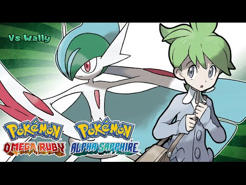 Pokemon Omega Ruby/Alpha Sapphire - Battle! Wally Music (HQ)