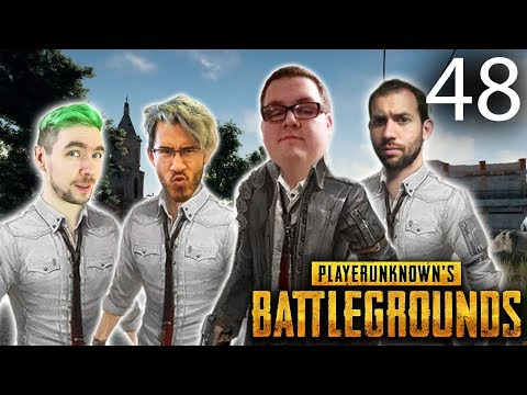 Maybe The Blue Will Kill Them?   Playerunknown's Battlegrounds Ep. 48 w/Mark, Wade and Jack