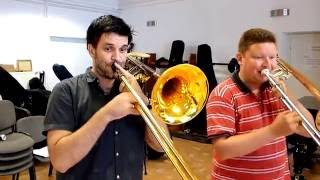 Ghost Riders by the Hungarian Trombone Connection