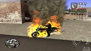 Gta San Andreas: How to Find the Ghost Rider Bike (NO MODS)