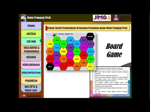 SSB003 - Modul Pedagogi PA4K