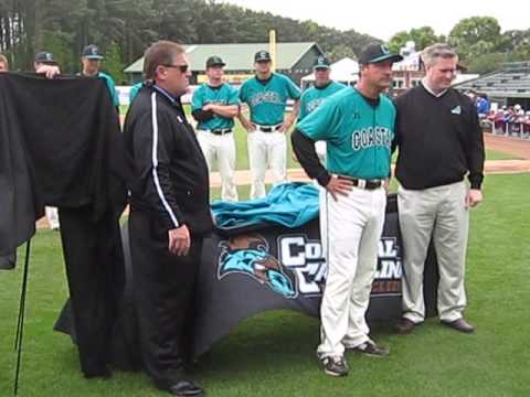 CCU's Gary Gilmore honored for 1,000th career win