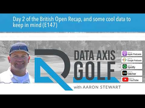 Day 2 of the British Open Recap, and some cool data to keep in mind (E147)