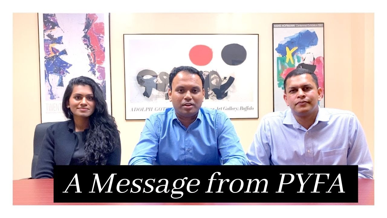 A Message from 2020 & 2021 PYFA Team | Updates on Events, Coronavirus Precautions & Prayers