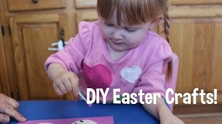 DIY Easter Crafts with your toddler 2! Thumbnail