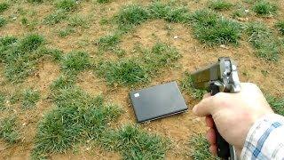 Vater erschießt Laptop seiner Tochter