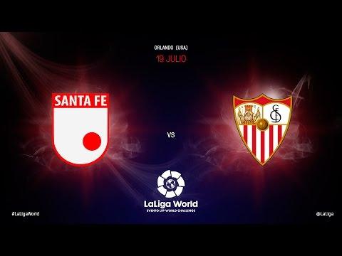 Independiente Santa Fe vs Sevilla F.C.