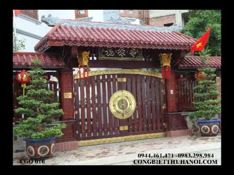 cổng gỗ đẹp cổng gỗ 4 cánh, cổng gỗ 2 cánh, mẫu cổng gỗ đẹp, mẫu cổng gỗ lim  cổng gỗ đẹp