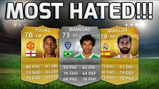 FIFA 15 - MOST HATED TEAM!!! - Fifa 15's Most Hated Players Squad Builder