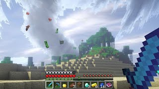 Minecraft UHC but the weather is cursed...
