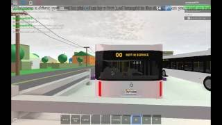 Bus game on Roblox again!!!