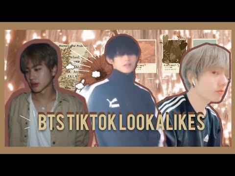 [LA]BTS  Lookalikes:Tiktok Icons Who Looks Like BTS(with Links)
