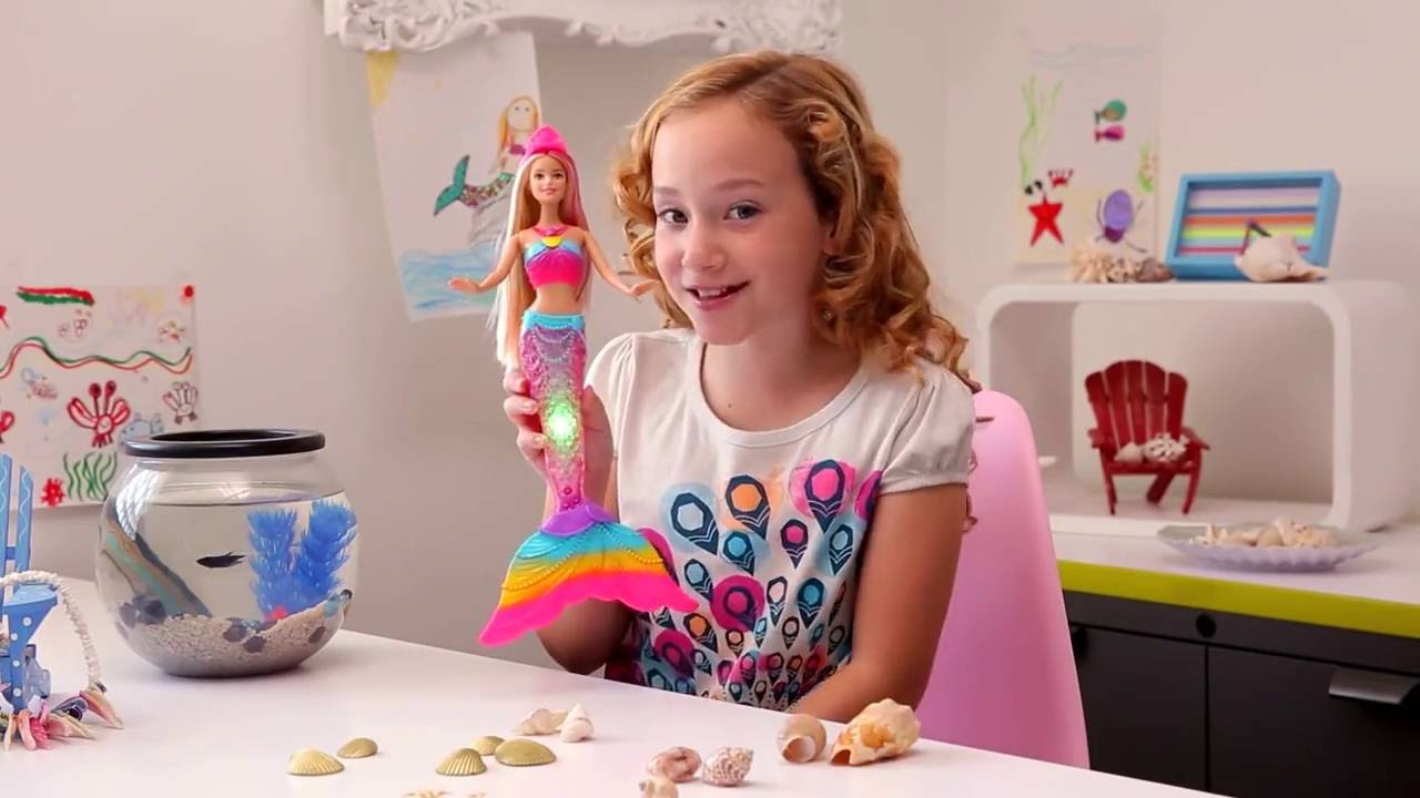 Mattel maroc barbie sir ne arc en ciel youtube - Barbie sirene magique ...