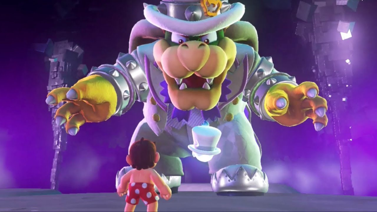 In Super Mario Odyssey Bowser Reacts To All Of Mario