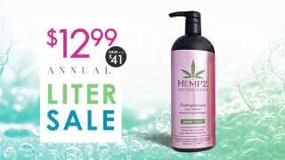 Beauty Brands $12.99 Annual Liter Sale - Radio Thumbnail
