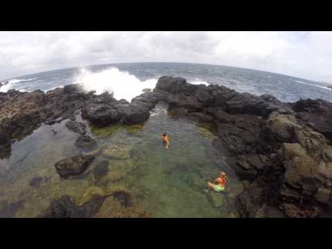 Maui Adventures to a secret tidepool!