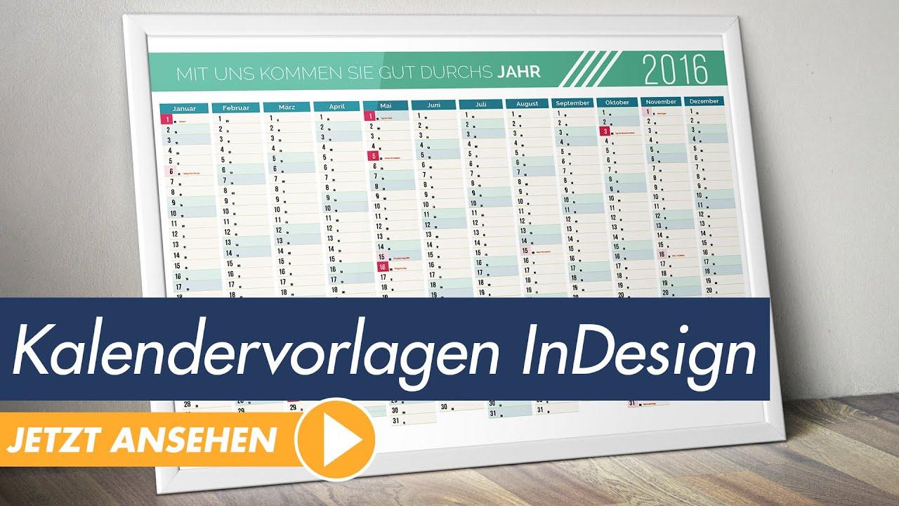InDesign Tutorial: Kalendervorlagen individuell und einfach anpassen ...