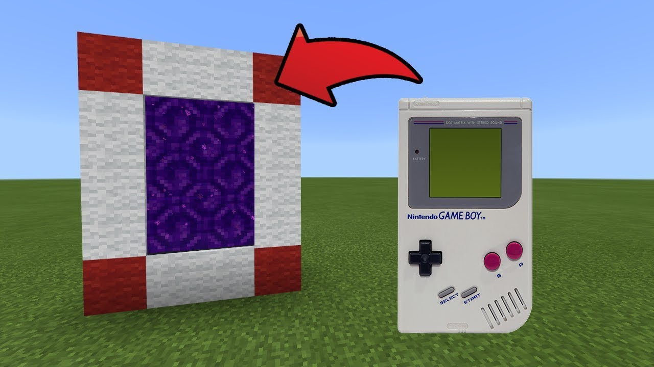 how to make a portal to pokemon in minecraft pe
