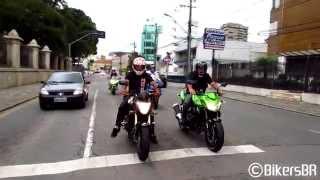 Bikers 60 - Suzuki Hayabusa & Ducati 1198S Wheelie, Bandit 650 on wet Road, S1000RR CBR R1 R6 ZX6R