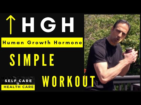 Increase Human Growth Hormone HGH with this simple workout!