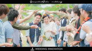 DAISUKE&SAKI WEDDING produced by WEDDINGINNOVATION