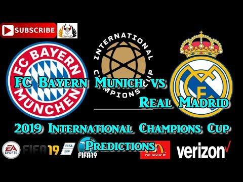 FC Bayern Munich vs  Real Madrid | International Champions Cup 2019-20 | Predictions FIFA 19