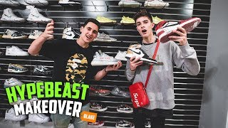 Transforming My Friend Into A Hypebeast!