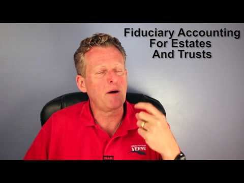 Fiduciary Accounting for Estates and Trusts
