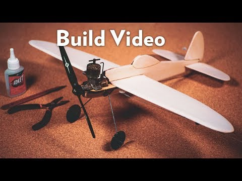 How It Works: Control Line Airplane // Build Video