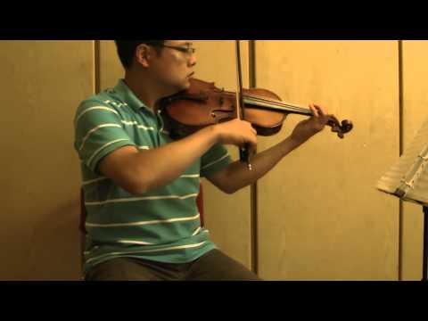 Simple Gifts, 1st violin