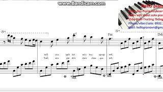 Còn tuổi nào cho em ( Free Sheet Piano)