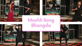 Muchh song | Dance Performance on Muchh song in Sangeet