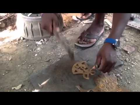 Haiti metal art
