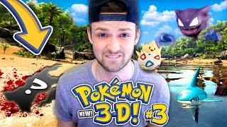 connectYoutube - Pokemon 3D (NEW) - KILLING A BRAND NEW POKEMON... HOW?! 😭 (Season 2 // Ep 3)