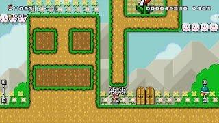 Super Mario Maker - 100 Mario Challenge - Super Expert Difficulty #35