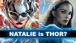 Female Thor is Jane Foster! And Natalie Portman in Thor 3 Ragnarok 2017? - Beyond The Trailer