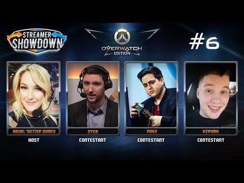 Streamer Showdown #6 Overwatch (feat. Ster, Kephrii, Poke and Seltzer)