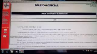 CONSULTA DIÁRIO OFICIAL DA BAHIA