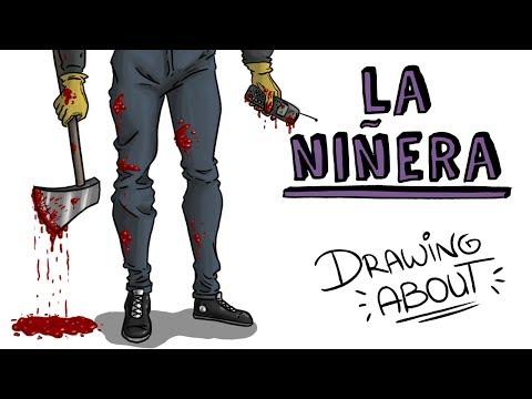 LA NIÑERA LEYENDA URBANA   Draw My Life Miércoles de Terror
