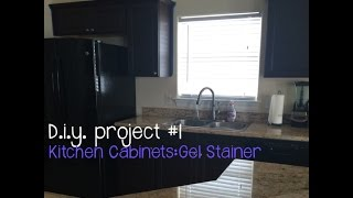 Kitchen Cabinets: General Finishes Gel Stain