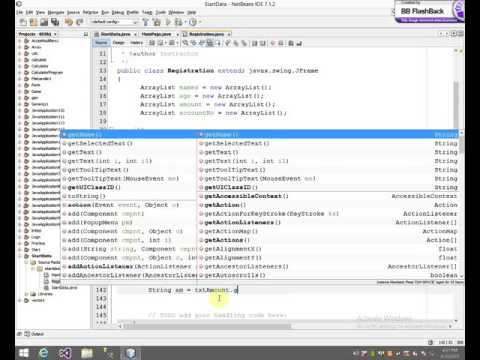 How To Make A Bank Application in Java GUI Urdu Hindi YouTube – Bank Application